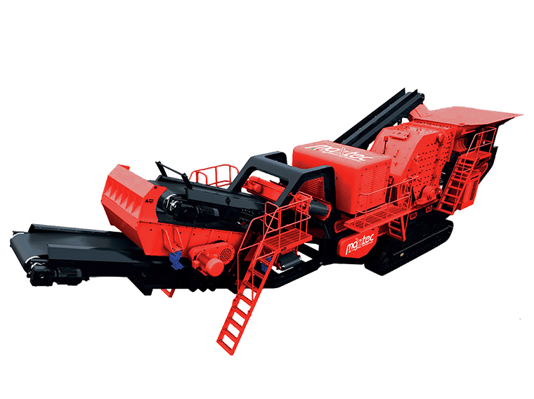 LION – Heavy Mobile Unit with Impact Crusher