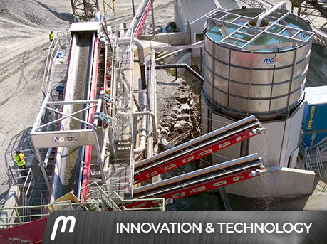 Construction, demolition & excavation waste recycling - Matec Industries